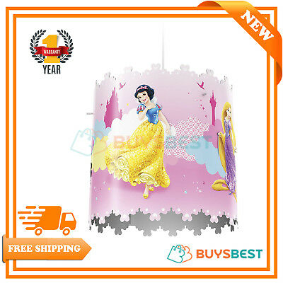 Disney Princess Children Ceiling Pendant Lightshade Lampshade Lamp Kids Bedroom