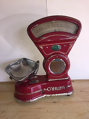 Vintage Shop Scales Asco Very Nice Size For Home Kitchen Delivery Available