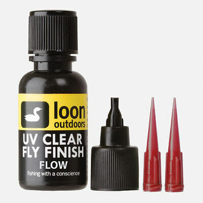 NEW LOON UV FLOW CLEAR FLY FINISH Fly Tying Fly Fishing
