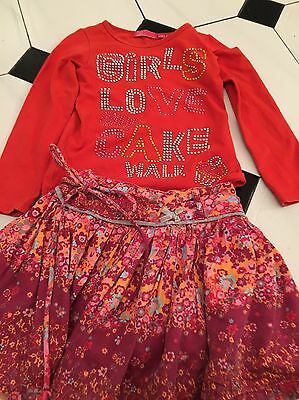 Cakewalk Girls Suit Aged 4