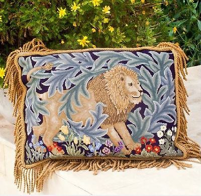 Ehrman Designer Beth Russell Tapestry Chart Only LION CUSHION William Morris