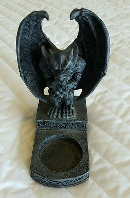 Horned Gargoyle Candle Holder Tealight
