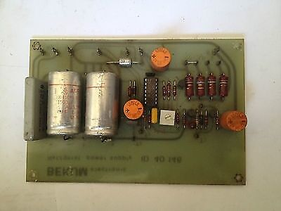 Carte Electronique BEKUM ID 40 146  Electronic Board