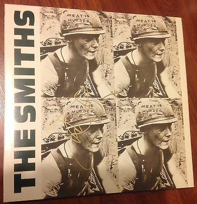 Johnny Marr Signed The Smiths Meat Is Murder Album 180 Gram Vinyl Morrissey  Nyc