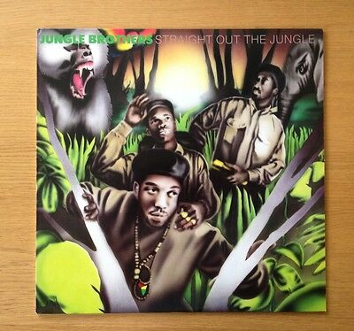 JUNGLE BROTHERS - Straight Out The Jungle original US vinyl LP 1988