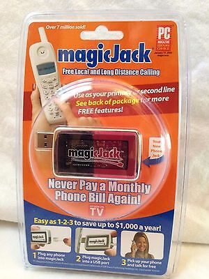 MagicJack USB Phone Jack New Unopened  430-0302