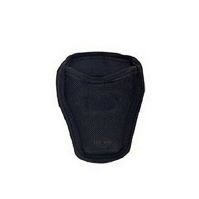 """5ive Star Gear 4623000 Open Top Handcuff Case Nylon Black Fits Up To 2"""" Belt"""