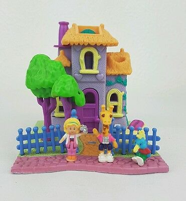 Polly Pocket Giraffe House 100% Complete 1994 excellent condition