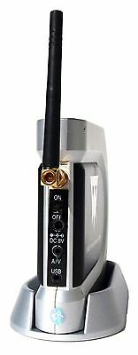 Wisecomm Clover 2.4Ghz Wireless Receiver w/DVR 4 Channels For Security Cams 588