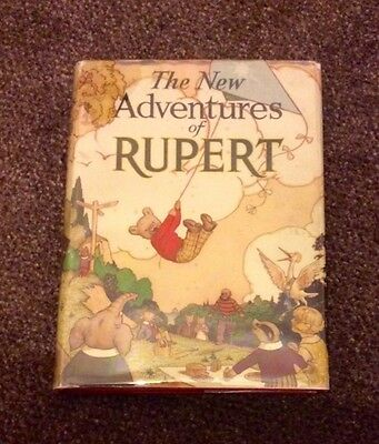 Rupert 1936 Annual In Very Good Condition With The Rare Original Dustwrapper!!