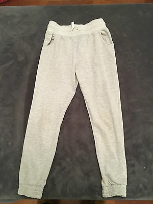 Grey Tracksuit Bottoms For Girl, Age 10, By Matalan