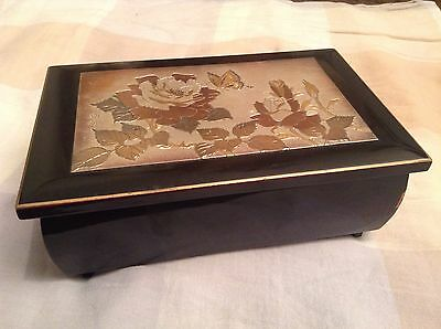 "Vintage Art Of Chokin Music Box ""chariots Of Fire"" Westland Co"