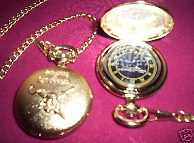 Disney Premiere PIRATES of the CARIBBEAN Promotional POCKET WATCH At World's End