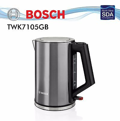 BOSCH CITY COLLECTION ANTHRACITE KETTLE TWK7105GB 1.7 Litre 3000w