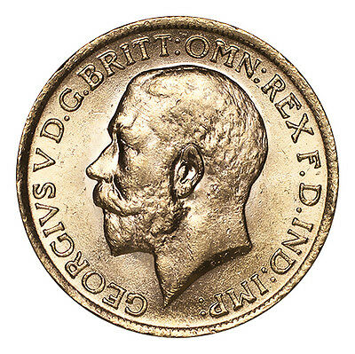 Great Britain Gold Coin George V 1915 Gold Sovereign UNC