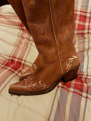 sancho, cowboy boots, Western, size 37, made in spain, equestrian