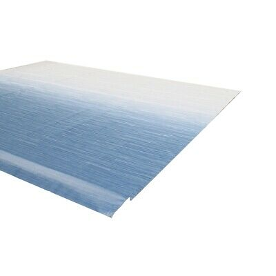 ALEKO Vinyl RV Awning Fabric Replacement 8X8 ft  Blue Fade Color