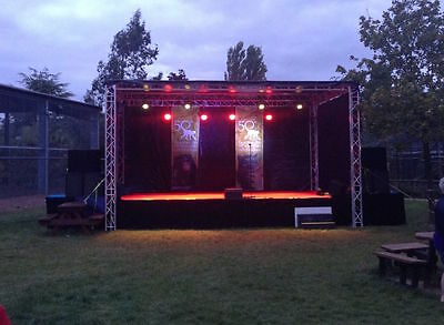 Mobile Stage for HIRE 6m x 4m Midlands & UK Covered