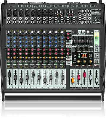 BEHRINGER EUROPOWER PMP4000 1600W 16-Channel Powered Mixer with FX - Live Sound
