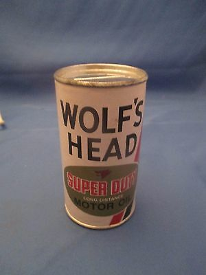 1970's WOLF'S HEAD MOTOR OIL BANK OIL CITY PA ADVERTISING