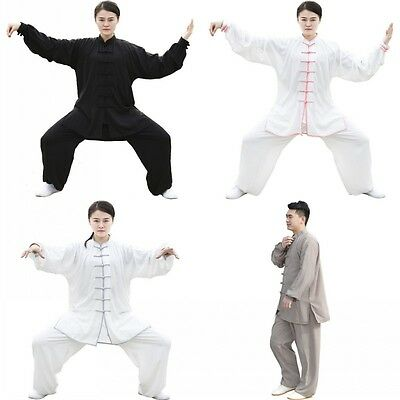 Chinese Traditional Tai Chi Kung Fu Wushu Train Clothing Uniform Costume Clothes