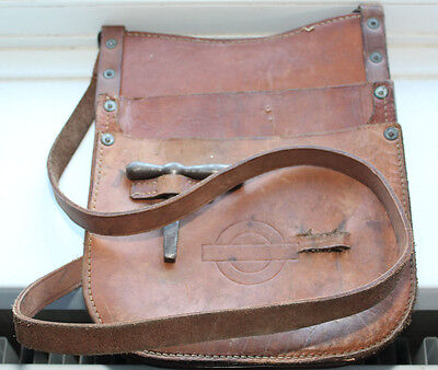 London Transport conductors bag and budget quay dated 1956 on back
