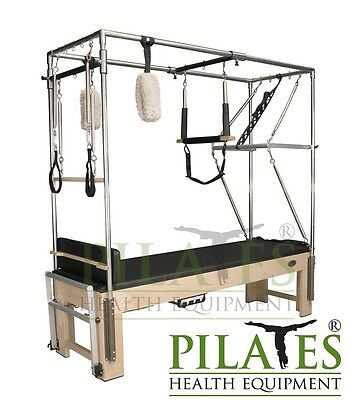PILATES HEALTH EQUIPMENT - Signature Series Trapeze Table | Cadillac [Black]