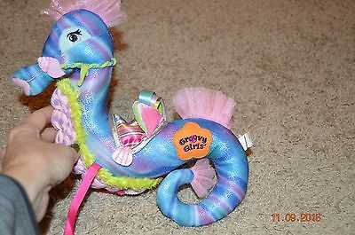 Groovy Girls By Manhattan Toys Plush Colorful Seahorse
