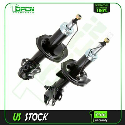 New Front Pair Shock Absorbers /Struts Fit Nissan Cube 09-13 & Versa 07-12
