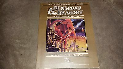 Dungeons & Dragons - Player's Guide to Immortals - TSR - 1986