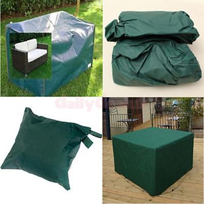 Outdoor Patio Table Chair Furniture Set Cover Shelter Dustproof 7 Size Pick