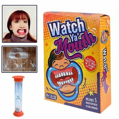 Watch Ya Mouth, the Authentic, Hilarious, Family Edition Mouth Guard Party Game