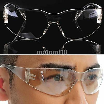 New Transparent PC Vented Safety Goggles Glasses Lab Anti Fog Eye Protection