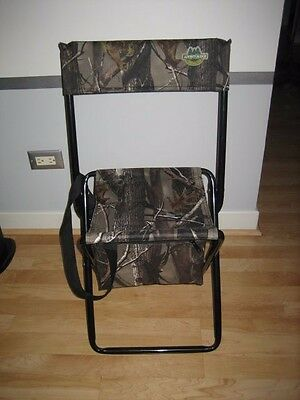 Folding Chair Portable Hunting Camping Fishing Outdoor  Seat Compact Compartment