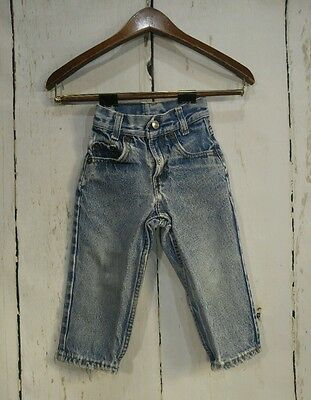 Vintage Levi's Toddler 12m 18m Jeans Distressed Made in USA ヴィンテージ赤ちゃんリーバイスジーンズ
