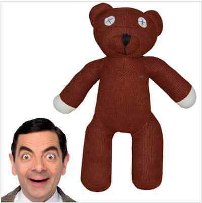 1piece 9'' 23cm Mr Bean Teddy Bear Animal Stuffed Plush Toy Brown Figure Doll