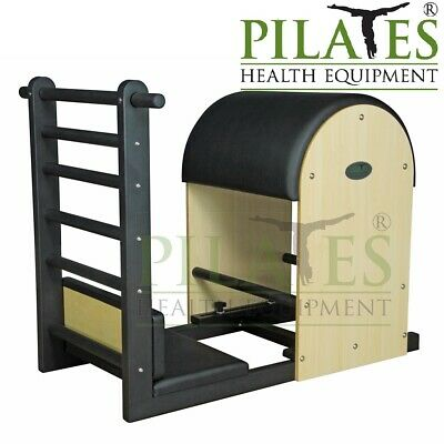 Steel Framed Ladder Barrel [Cream] Including 2 Piece Foot Platform