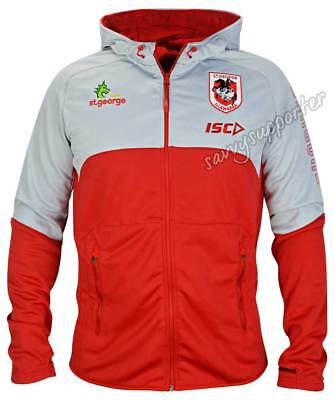 St George Dragons 2017 NRL Workout Hoody Jacket 'Select Size' S-5XL BNWT