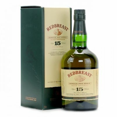 Redbreast 15yo Irish Single Pot Still Whiskey 700ml
