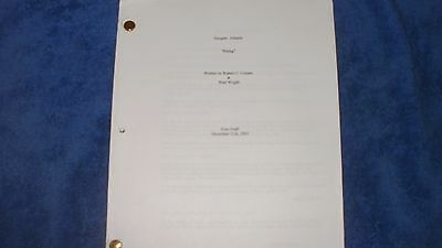 Stargate Atlantis Tv Script - Joe Flanigan Richard Dean Anderson Michael Shanks