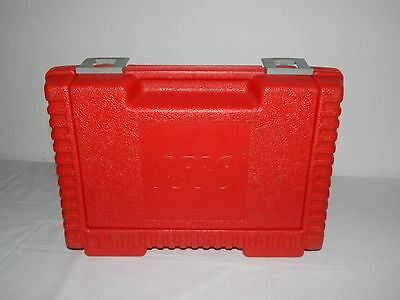 LEGO Storage Carrying Case Plastic Red Boys Girls Toys