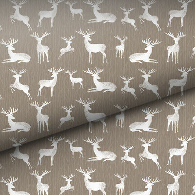 NEW Vandoros Woodland Deer Wrapping Paper
