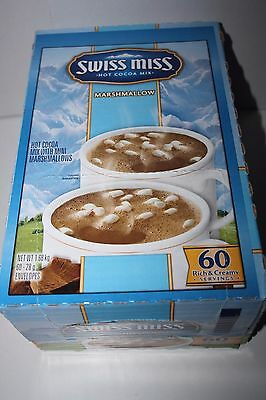 SWISS MISS Hot Cocoa Mix MARSHMALLOW 60 Rich & Creamy Servings 1.68kg