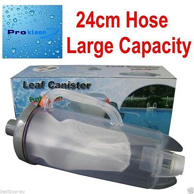 Generic - Leaf Canister - Heavy Duty Basket Swimming Pool Cleaner Catcher Eater