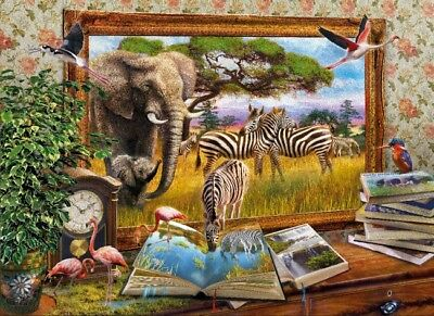 Clementoni Krasny: Come to Life 1000 pieces jigsaw puzzle