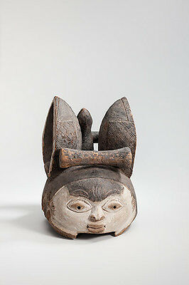 Rarity fine antik Yoruba Mask old Germany collection