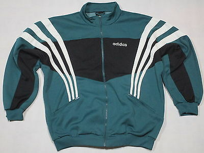 Adidas Trainings Jacke Sport Jacket Windbreaker Track Top 90er Vintage VTG 10 XL