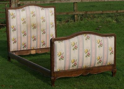 PRETTY EARLY / MID 20th CENTURY   FRENCH SINGLE BED