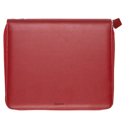NEW Filofax Pennybridge A5 Red Organiser iPad Case