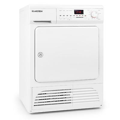 White Compact Clothes Condenser Tumble Dryer Powerful & Fast Drying